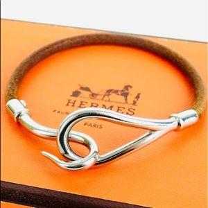 HERMES Hook Jumbo Bracelet